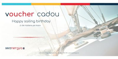 voucher cadou Happy sailing birthday